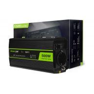 Green Cell  Voltage Car Inverter 24V to 230V, 500W Full Sine Wave (INV17)