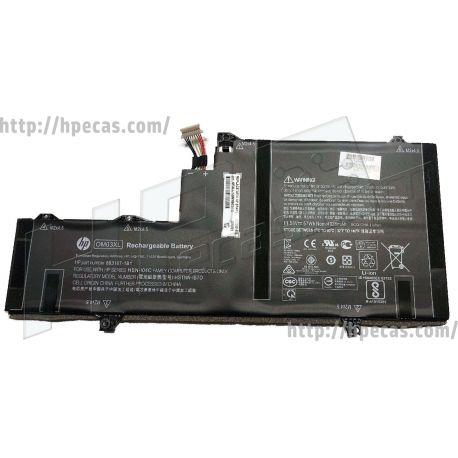 Bateria HP OM03XL Original de 3 células 11.55V 57Wh 3.30Ah (863167-171, 863167-1B1, 863176-171, 863176-1B1, 863280-855, HSTNN-IB7O, OM03057XL-PL) N