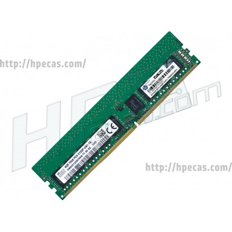 HP 4GB (1X4GB) 1Rx8 PC4-7000 DDR4-2133 Unbuffered CL15 NECC 1.2V STD (798033-001, M8U51AV, M0D36AV, N5Z66AV)