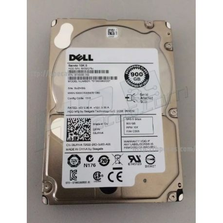 "Disco DELL 900GB SAS 10K 2.5"" 6G Hot-Plug (4X1DR)"