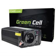 Green Cell  Voltage Car Inverter 12V to 230V, 300W - 600W (INV01DE)