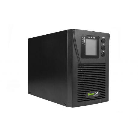 UPS Online Green Cell MPII com LCD display 1000VA (UPS17)