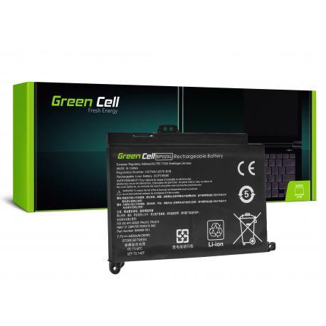 Bateria Green Cell BP02XL para HP Pavilion 15-AU 15-AU051NW 15-AU071NW 15-AU102NW 15-AU107NW 15-AW 15-AW010NW (HP150)