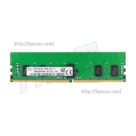 Memória Compatível 8GB (1x 8GB) 1RX4 PC4-21300 DDR4-2666 REG ECC CL19 ECC STD (HMA81GR7AFR8N-VK)