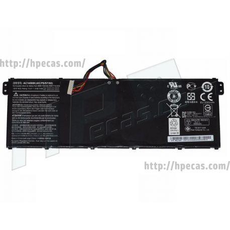 BateriaAcer AC14B8K Original de 4C 15.2V 48Wh 3.20Ah (KT.00403.032, KT.00403.036, KT.00403.040, KT.0040G.004, KT.0040G.006) N