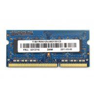 LENOVO 2GB (1x2GB) 1Rx8 PC3-10600S-999 DDR3-1333 Non-ECC 1.5V USO-DIMM 204-pin STD (41R0631, 55Y3710, 55Y3716, 55Y4416, 57Y4416, 57Y6582, 57Y6583, 78Y7392, 99Y2211, 99Y2214, 99Y2217) N