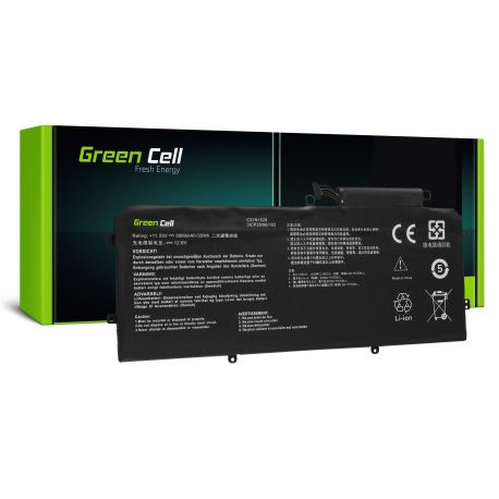 Green Cell Bateria C31N1528 para Asus ZenBook Flip UX360C UX360CA 2900mAh (AS152)