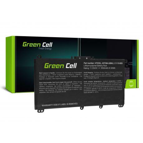 Bateria Green Cell HT03XL para HP 240 G7 245 G7 250 G7 255 G7, HP 14 15 17, HP Pavilion 14 15 11.55V 3550mAH (HP163)