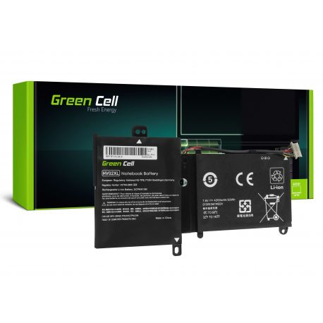 Bateria Green Cell HV02XL do HP Pavilion x360 11-K 11-K002NW 11-K102NW, HP Spectre 13-4000 13-4000NW 13-4100NW (HP164)