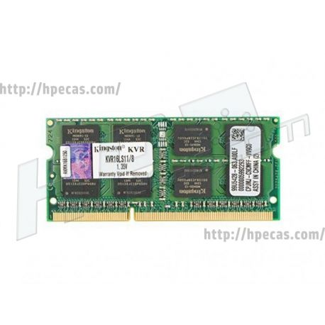 Memória KINGSTON 8GB PC3L-12800 DDR3/1600 Mhz Sodimm CL11 (KVR16LS11/8)