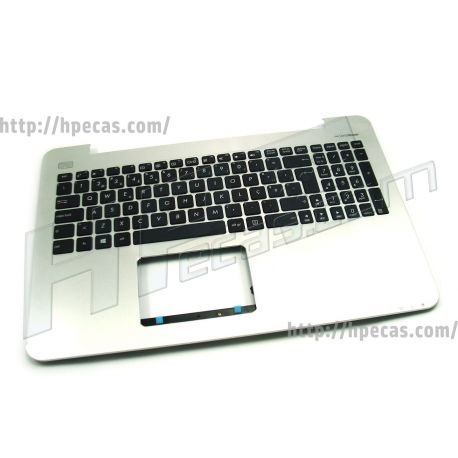 ASUS Teclado Portugues c/Top Cover X555LN-3D (90NB0647-R32P00, 90NB0647-R32PO0, MP-13K96P0-5283) N