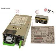 Fujitsu Hot-Plug Power Supply Module 450W (A3C40161429, A3C40172099, A3CA40121110, DPS-450DB-9 A, DPS-450SB A, S26113-E575-V50, S26113-E575-V52, S26113-E575-V70, S26113-F575-E10, S26113-F575-L10, S26113-F575-L12, S26113-F575-L13) R