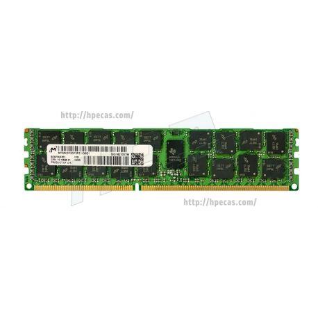 Memória Compatível 16GB (1x 16GB) 2Rx4 PC3L-12800 DDR3L-1600 LV REG/ECC CL11 1.35V (MT36KSF2G72PZ)
