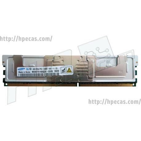 Memória DELL 4GB (1x 4GB) 2Rx4 PC2-5300F DDR2-667 FB/ECC CL9 1.8V (09F035, 9F035, 0DR397, DR397, 0MWP63, MWP63, 0P337N, P337N, CPA-DR397, SNP9F035C/4G) R