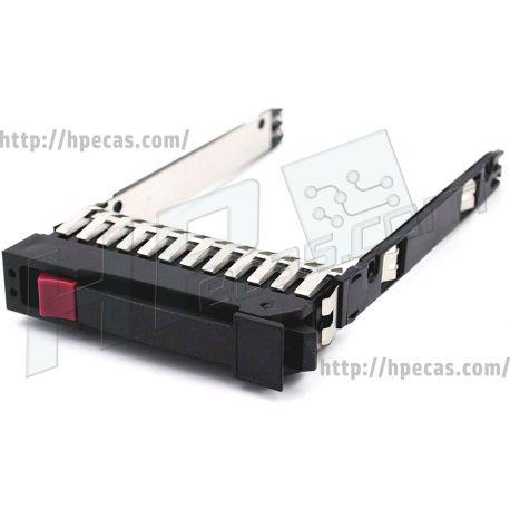 """HPE ST 2.5"""" SFF Caddy HP G5,6,7, MSA SAS/SATA (500223-001) R"""