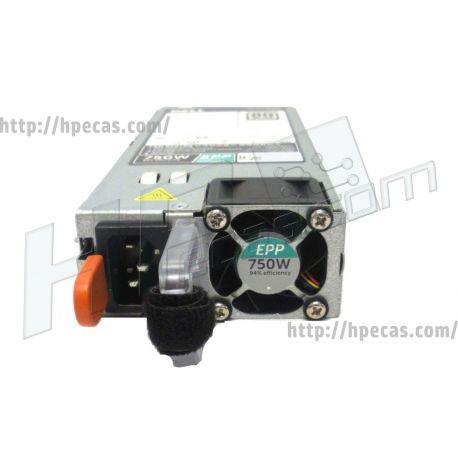 DELL EMC Power Supply Unit 750W 80 Plus Platinum 94% Efficiency (EPP) Extended Power Supply (00XW8W, 0XW8W, 05RHVV, 5RHVV, 0953MX, 953MX, 0G6W6K, G6W6K, 0HTRH4, HTRH4, 0MXFF5, MXFF5, 0TPJ2X, TPJ2X, 0V1YJ6, V1YJ6) N