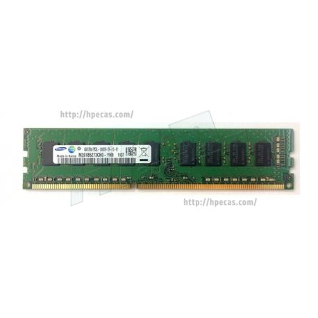 Memória Compatível 4GB (1x4GB) 2Rx8 PC3L-10600 DDR3-1333 ECC 1.35V CL9 LV UDIMM 240-pin STD