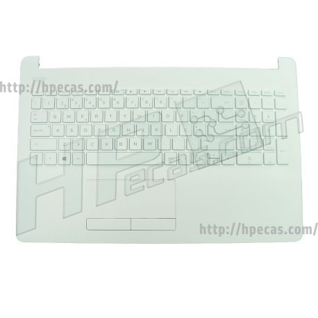 HP 15-BS, 15-BW, 15-RA, 15-RB Top Cover/Keyboard in Snow White (925009-131, PK132045C16, V162602FS1 PO) N