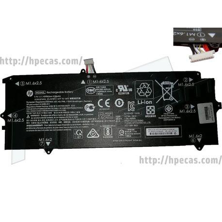 Bateria HP MG04XLOriginal de4 células 7.7V 40Wh 5195mAh (812060-2B1, 812060-2C1, 812148-855, 812205-001, HSTNN-DB7F, MG04040XL) N