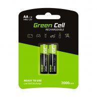 Green Cell Pilhas Recarregaveis 2x AA HR6 2000mAh (GR06)