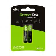Green Cell 2x Pilhas Recarregáveis AAA HR03 800mAh (GR08)