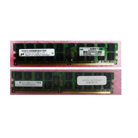 Hpe Memory 4gb Pc2-6400 256mx4 (501158-001)