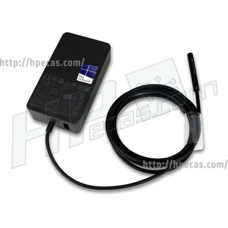 Carregador Original Surface (1625) 36W 12V 2.58A Additional USB 2.0 Port: 5V 1A