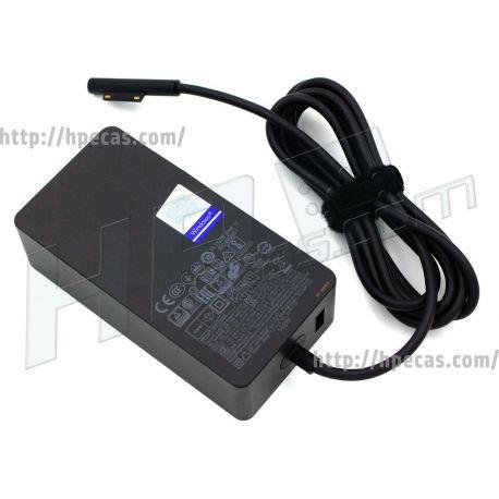 Carregador Original Surface (1798) 102W 15V 6.33A Additional USB 2.0 Port: 5V 1.5A