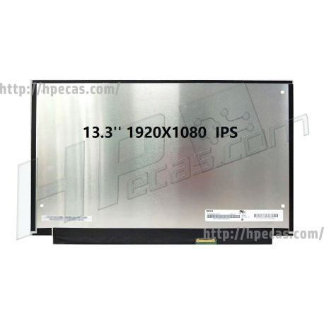 "Ecrã LCD 13.3""1920x1080 FHD AntiglareIPS WLED 30-Pinos BR eDP Flat WOB (LCD093M) N"