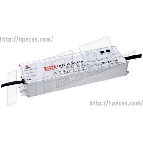 Fontes de alimentação para LEDs MEAN WELL (HLG-185H-36A) N