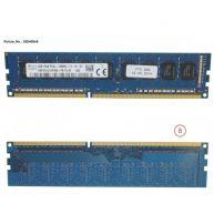 Fujitsu 8gb (1x8gb) 1rx8 L Ddr3-1600 U Ecc (S26361-F5312-L514, 38040868) N