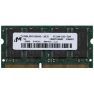 Memória HP 128MB 2R PC-100 SDR-100 UnBuffered CL2 nEE 3.3V SoDimm ( C7779-60270, C2388A) R