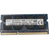 HP 4GB (1x4GB) 1Rx8, PC3L-12800S DDR3-1600, Unbuffered, CL-11, non-ECC, 1.35V SO-Dimm Special (727920-361, 727920-362, 727920-662, 727920-B61, 747221-005) R