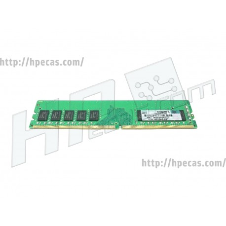 HPE 8GB (1x8GB) 1Rx8 PC4-19200T-E 17-17-17 DDR4-2400 ECC 1.20V UDIMM 288-pin STD (862689-091, 862974-B21, 869537-001) FS