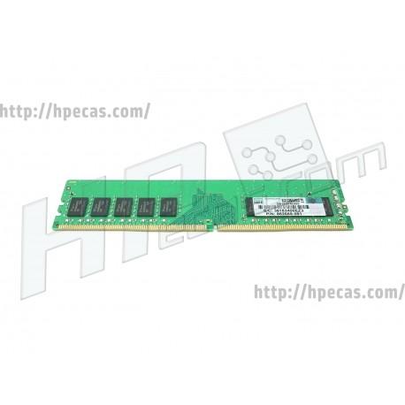 HPE 8GB (1X8GB) 1RX8 PC4-19200T-E DDR4-2400 Unbuffered CL17 ECC 1.2V STD (862689-091, 862974-B21, 869537-001) N