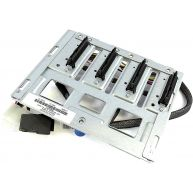 HPE 4-Bay LFF Non-Hot-Plug Hard Drive Backplate and Mini-SAS to SATA cable assembly (674789-B21, 674792-001, 686746-001) R