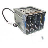 HPE ML310e Gen8 V1/V2, 4-Bay SAS / SATA LFF Non-Hot-Plug Hard Drive Cage assembly (684523-001) R