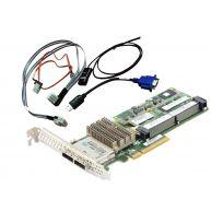HPE Smart Array P421/2GB FBWC 6GB 2-Ports EXT SAS Controller Kit (631674-B21) N