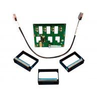 HPE ML310e Gen8 V1/V2, 4-Bay SAS / SATA LFF Hot-Plug Hard Drive Backplane Kit (674839-B21) N