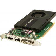 HPE PCA NVIDIA Quadro K2000 2GB PCIe 2.0 Graphics adapter (700103-001, 713380-001) N
