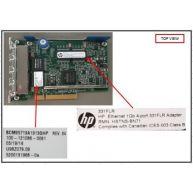 Hp Flexiblelom Ethernet 1gb 4-port 331flr Adapter (634025-001, 629133-001)