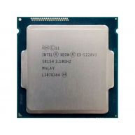 Intel® Xeon® Processor E3-1220 v3 8M Cache, 3.10 GHz FCLGA1150(03T6758, 721864-004, 725282-001, E3-1220V3, SR154) R