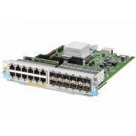 HPE Enterprise Expansion module - Gigabit Ethernet (PoE+) x 12 + Gigabit SFP x 12 (J9989-61001, J9989A)