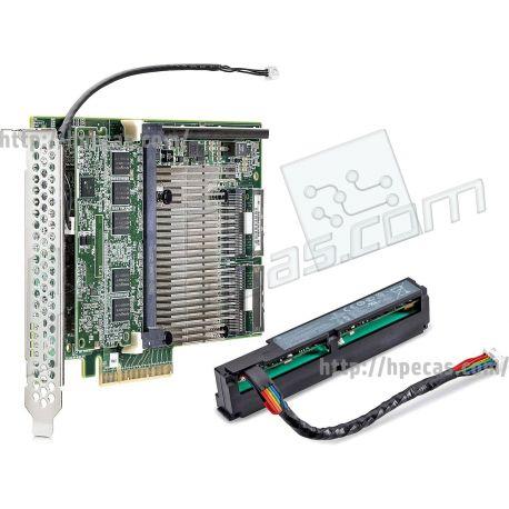 HPE Smart Array P840/4GB FBWC 12GB 2-Ports Int SAS Controller PCIe3 x8 Kit (726897-B21) R