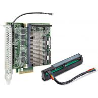 HPE Smart Array P840/4GB FBWC 12GB 2-Ports Int SAS Controller PCIe3 x8 Kit (726897-B21) N