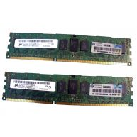 HPE 8GB (2X4GB) 1RX4 PC3-10600R DDR3-1333 Registered CL9 ECC 1.50V STD (591750-371, AM230A, AM327-69001, AM327A) N