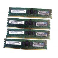 HPE 16GB (4X4GB) 1RX4 PC3-10600R DDR3-1333 Registered CL9 ECC 1.50V STD (591750-371, AH340A, AM327-69001) N