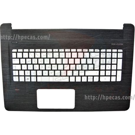 HP ENVY 17-N0, 7-N1, 17-R1, Top Cover with Keyboard Portuguese Backlight (813678-131, 819948-131) N