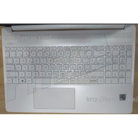 Top Cover e Teclado HP Snow White (L63574-071, L68120-071)