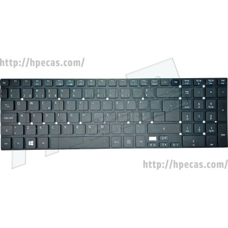 Teclado ACER Aspire V3 série (KB.I170A.401, MP-10K36P0-6981W, NK.I1713.05X, NK.I171S.00M, PK130N41A17)